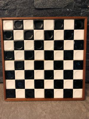 Tile Wood Game Board Chess Checkerboard for Sale in Beaverton, OR