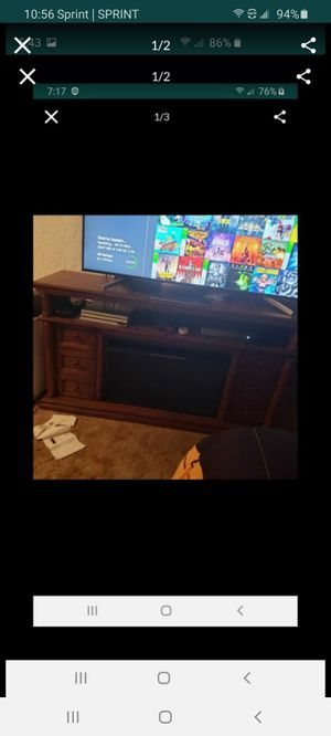 tv stand fireplace for Sale in Coraopolis, PA