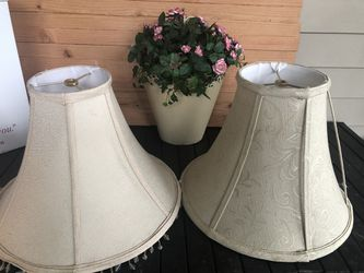 Two Lamp Shades for Sale in Puyallup,  WA