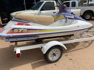 The trailer is 2000 and the jet ski is 1996 both have title the jet ski needs work is been sitting for Sale in Tucson, AZ