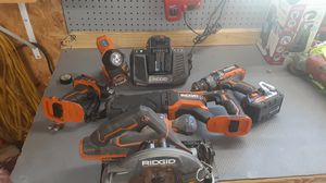 Ridgid what you see set! for Sale in Mooresville, IN