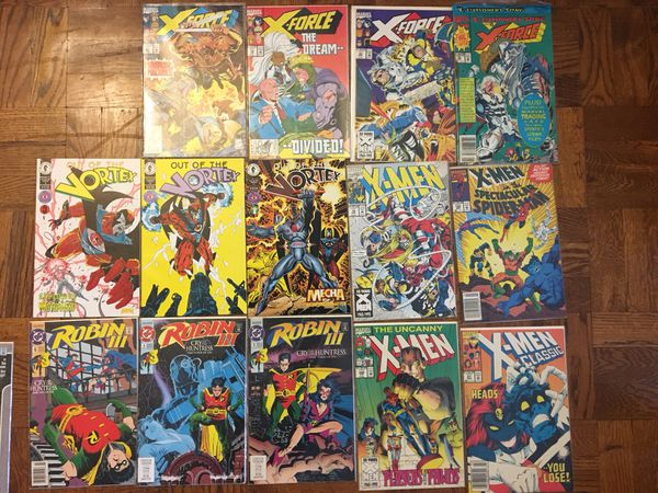 Whole Collection of Comics - DC, Dark Horse, and Marvel