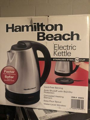 Electric kettle - Hamilton beach for Sale in Kensington, MD