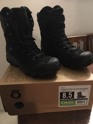 Oboz hiking/working boots for Sale in Hayward, CA