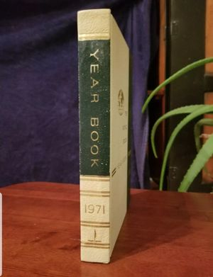 World Book Encyclopedia Yearbook - 1971 - Review of the Events of 1970 for Sale in Lexington, SC