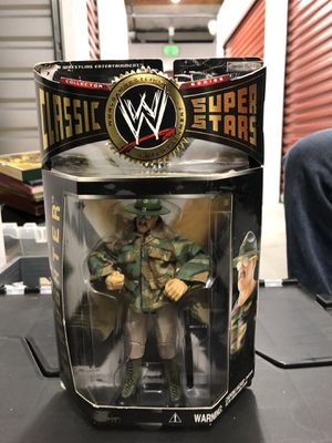 WWE Sgt.Slaughter Action Figure for Sale in Portland, OR