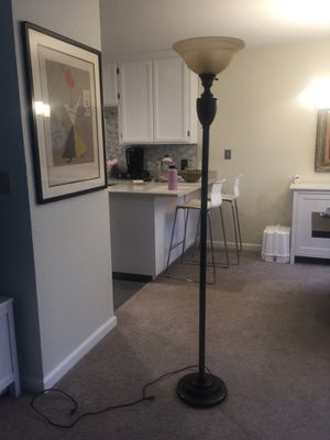 Two matching floor lamps for sale for Sale in West Menlo Park, CA