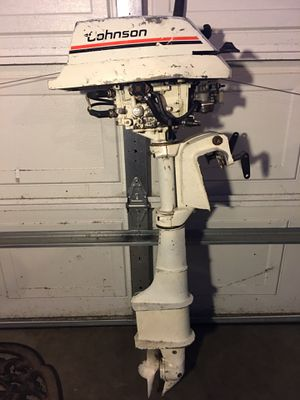 Johnson/Evinrude 4 HP long shaft outboard, not running, has compression. Parts motor only. for Sale in Olympia, WA