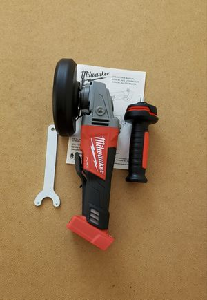 New Grinder Milwaukee Fuel ONLY TOOL FIRM PRICE for Sale in Woodbridge, VA