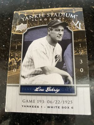 Lou Gehrig baseball card for Sale in Wantagh, NY