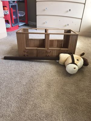 Stick horse and Stable for Sale in Mentone, CA