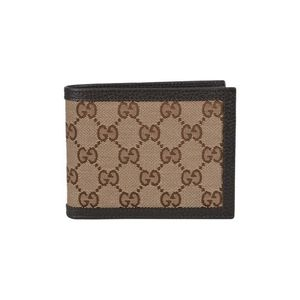 Authentic Gucci Men's Orginal GG Canvas Trifold Wallet 333042 for Sale in Huntsville, AL