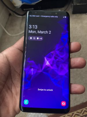 Samsung Galaxy S9 Unlocked for Sale in Silver Spring, MD