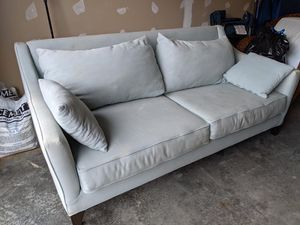 grey couch for Sale in Bellevue, WA
