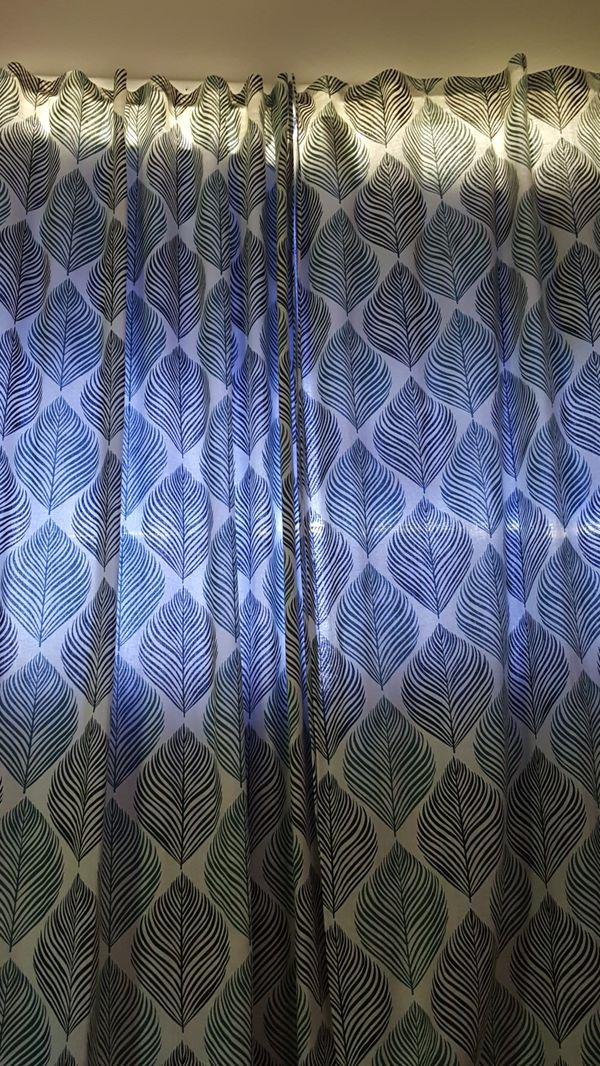 Door curtain Ikea around 10 ft height