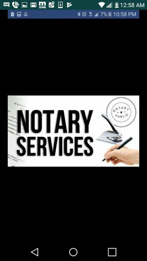 Mobile notary for Sale in Richland, MO