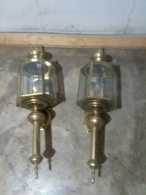 Antique lantern house lamps for Sale in St. Louis, MO