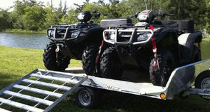 2 Sport ATV's w/Trailer.4-1200$ for Sale in Silver Spring, MD