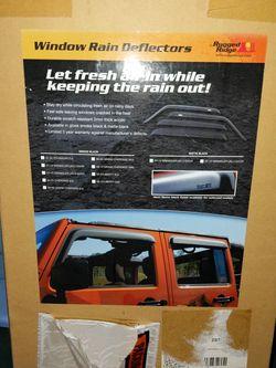 Window Rain Deflectors: Jeep Wrangler Jk for Sale in Charlotte,  NC