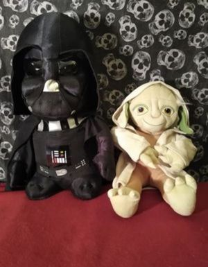 New Big Star wars plushies for Sale in Albuquerque, NM