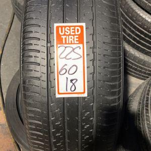 Tires 225/60/18 for Sale in Miami Gardens, FL
