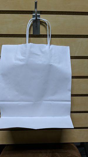 White paper bag for Sale in Boca Raton, FL