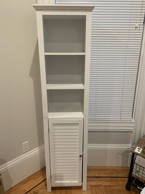 Two Tall end tables/storage cabinets for Sale in San Francisco, CA