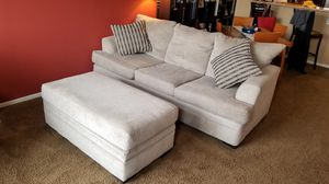 Chelsea Home Calexico Sleeper sofa + ottoman, memory foam mattress for Sale in Arvada, CO