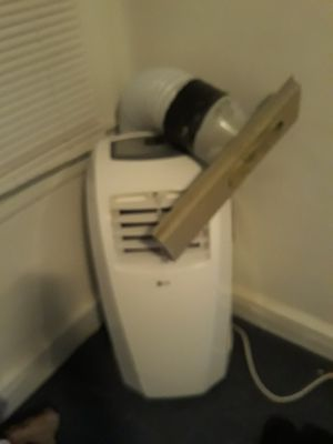 LG portable AC unit. Very cold with window attachment for Sale in Philadelphia, PA