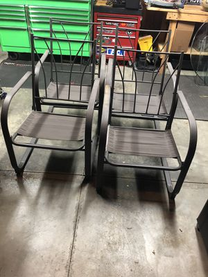 Four patio chairs for Sale in Dublin, OH