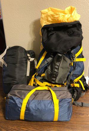 Hiking backpack, tent & sleeping bag for Sale in Hillsboro, OR