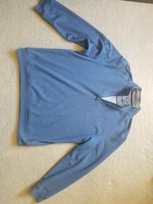 """Nice VAN HEUSEN men's Blue 1/4 Zip Mock Neck """"Flex """" Pullover Sweater XXL - SOFT! for Sale in San Diego, CA"""