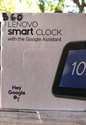 Lenovo smart clock for Sale in Escondido, CA