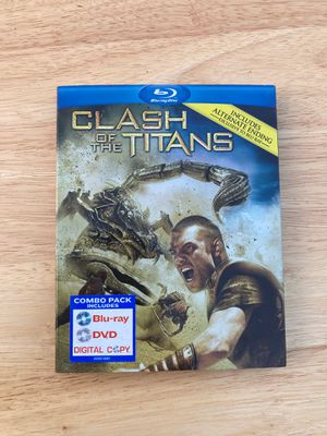 Clash of the Titans (2010) blu-ray/DVD combo pack for Sale in Los Angeles, CA