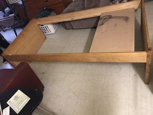 Wooden bed frame for Sale in Rensselaer, NY