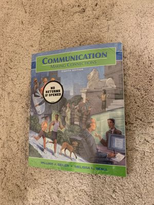 Communication Making Connections 8th Edition for Sale in Lincoln, NE