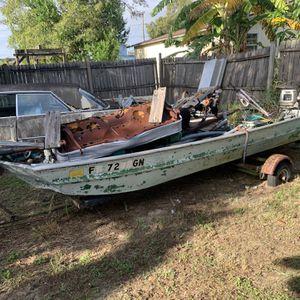 Jon Boat for Sale in Sebring, FL
