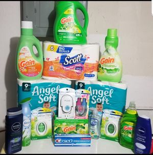 Gain household bundle $50 ( detergent size is 100oz bottle in bundle) for Sale in St. Louis, MO