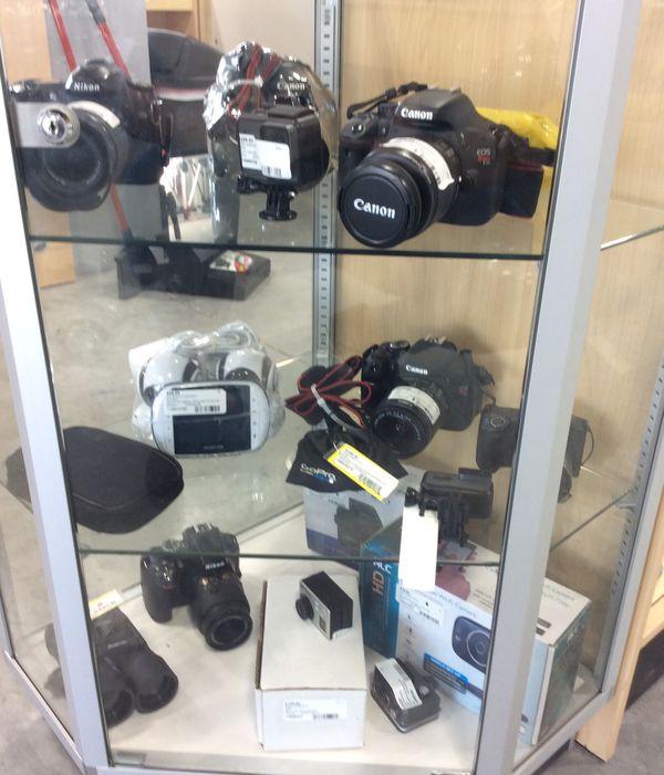 Camera, baby monitor, go pro
