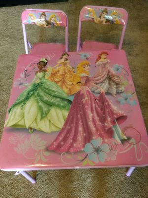 Princess Table and Chairs for Sale in Willow Spring, NC