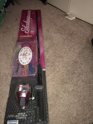 Beginners kid fishing pole for Sale in Oxon Hill, MD