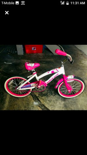 Toddler's white and pink bicycle for Sale in Buffalo, NY