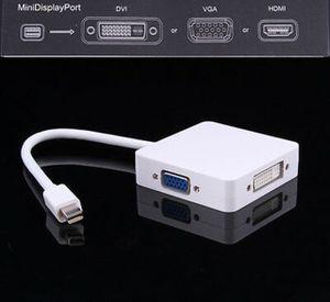 Square Style Mini DP MINI Displayport to HDMI DVI VGA Adapter for Sale in San Fernando, CA