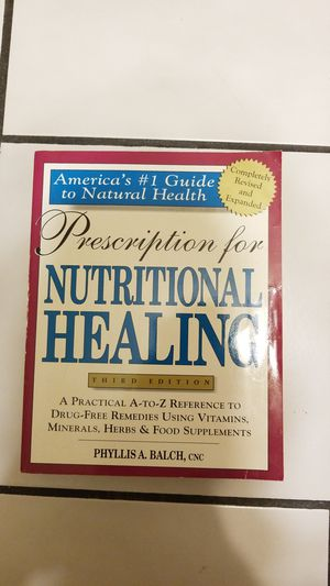 Prescription for nutritional healing for Sale in West Palm Beach, FL