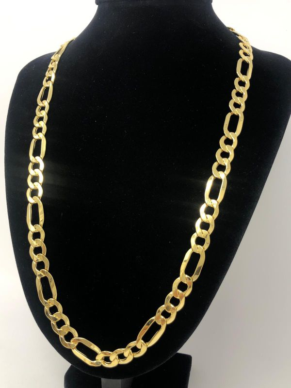 Figaro Chain🔆Gold Real 🌟