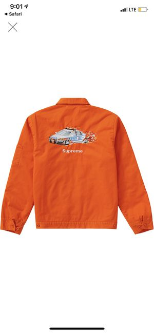 Supreme Cop Car Workers Jacket sz M for Sale in Mount Vernon, NY