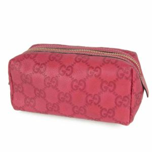 Authentic GUCCI GG Guccissima Leather Cosmetic Pouch Mini Bag Italy F/S for Sale in Henderson, NV
