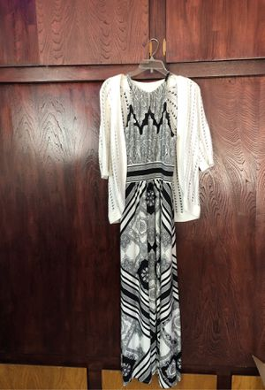 Dress with sweater top , London style collection & Liz Claiborne for Sale in Moreno Valley, CA