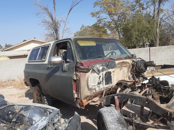 77 CHEVY SHELL ONLY ! NO TITLE (ONLY BILL OF SALE) ! ALL OTHER PARTS ARE FORSALE TOO FOR 73-87(91) CHEVY TRUCKS SEPERATELY !