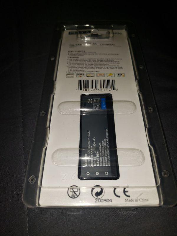 Wasabi Power Battery for Casio NP-50, NP-50DBA and Casio Exilim EX-V7, EX-V7SR, EX-V8, EX-V8SR